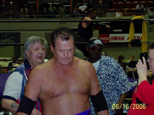 Wrestler Jerry Lawler marks 40 years at Oman Arena