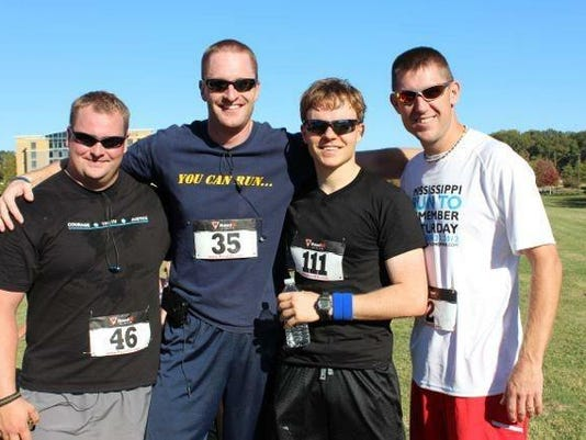 Mississippi law enforcement officers join the Run to Remember which will be