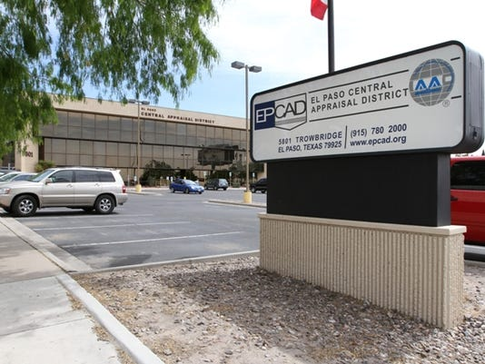 The Central Appraisal District is located at 5801 Trowbridge Drive.