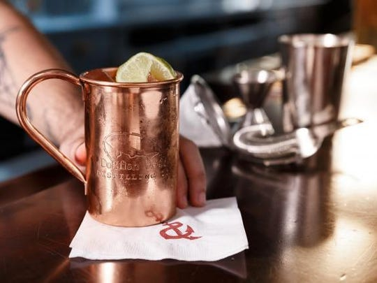 A Moscow Mule made with Dogfish Head's new Analog Vodka will be one of the craft cocktails on the menu at Cheapeake & Maine, a new Rehoboth Beach restaurant. The seafood eatery, from Dogfish Head Craft Brewery, is expected to open March 7.