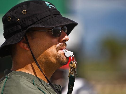 Former Palmetto Ridge High School head coach Ryan Mitchell. | PHOTO BY SCOTT MCINTYRE