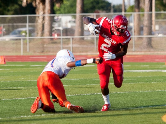 Immokalee RB Taeler Porter. | PHOTO BY JASON EASTERLY