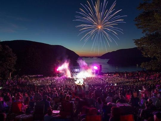 The West Point Band performs its annual Labor Day concert with fireworks Sept. 3 at the Trophy Point Amphitheater, West Point.