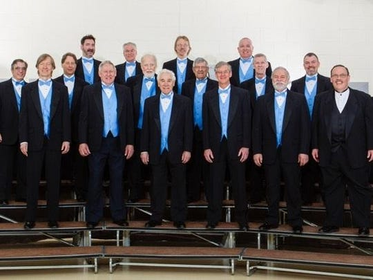 The Poughkeepsie Newyorkers, an all-male a cappella chorus, will present their annual show Sept. 17 in Poughkeepsie and Sept. 18 in Rosendale.