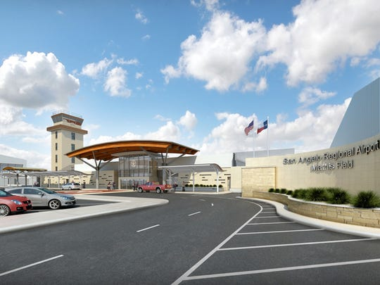 Renderings for Mathis Field Airport Improvements