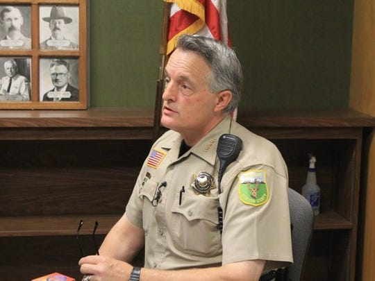 Siskiyou County Sheriff Jon Lopey.