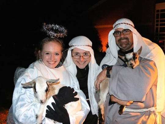 King of Kings Lutheran Church will present its 6th Annual Outdoor Live Nativity at 5 and 6:30 p.m. on Saturday.