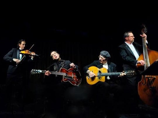 The Djangoners will perform Thursday at Casita del