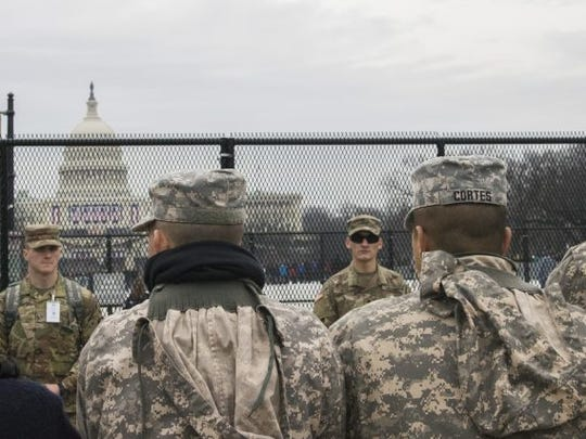 Washington, D.C., is already covered in fencing and barricades ahead of Jan. 20.
