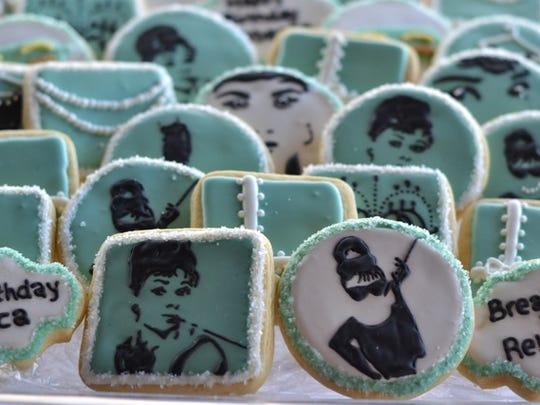"Audrey Hepburn-themed cookies helped make a ""Breakfast at Tiffany's"" themed Sweet 16 a success."