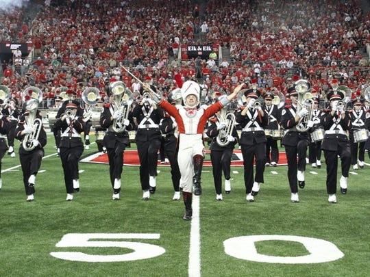 The Ohio State University Marching Band will perform in concert in the Oak Harbor High School Gymnasium at 7:30 p.m. Friday.