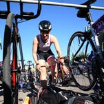 About 350 female athletes take part in the 7th Mighty Mujer Triathlon