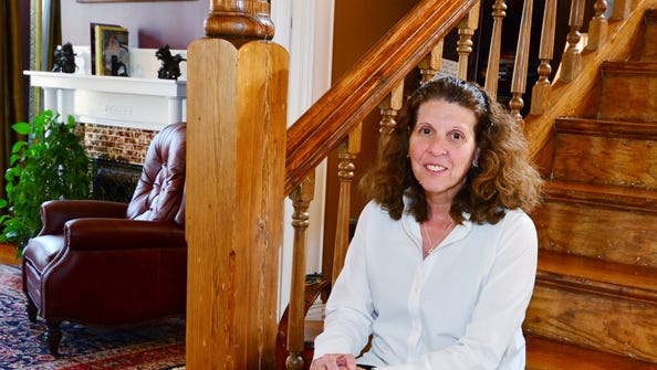 Bonnie Robertson, co-owner of Noble Manor Bed and Breakfast.