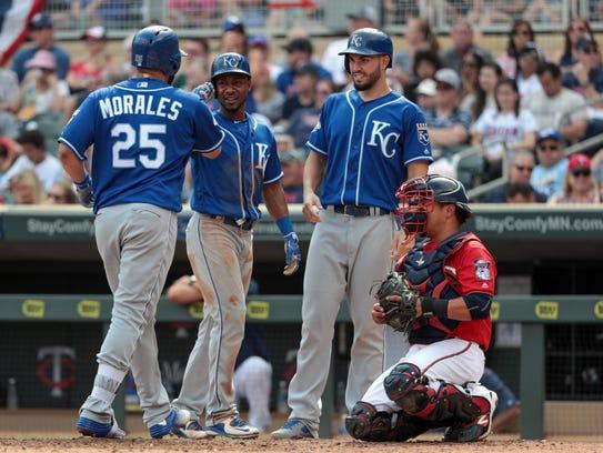 Kansas City Royals designated hitter Kendrys Morales