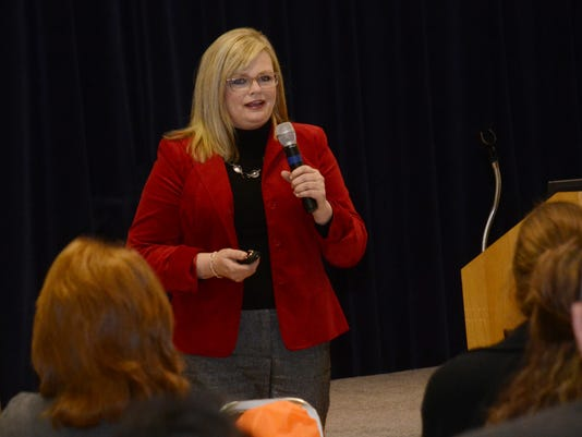 ANI Healthcare symposium Patricia Shehane, Huey P. Long operations director, addresses those in attendance at at health symposium held Thursday, Feb. 26, 2015. -Melinda Martinez/mmartinez@thetowntalk.com The Town Talk Gannett