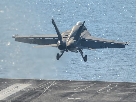 Nimitz Supports Operation Inherent Resolve