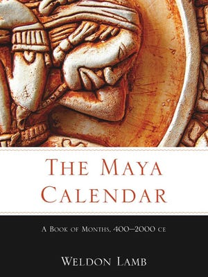 """The Maya Calendar"" by Weldon Lamb, NMSU's adjunct professor of anthropology. Lamb will have a lecture and book signing Thursday, April 20 from 5-6:30 p.m. at NMSU's University Museum in Kent Hall."