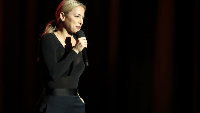 Comedian Iliza Shlesinger brings her first national theater tour to the Weidner Center on April 2.