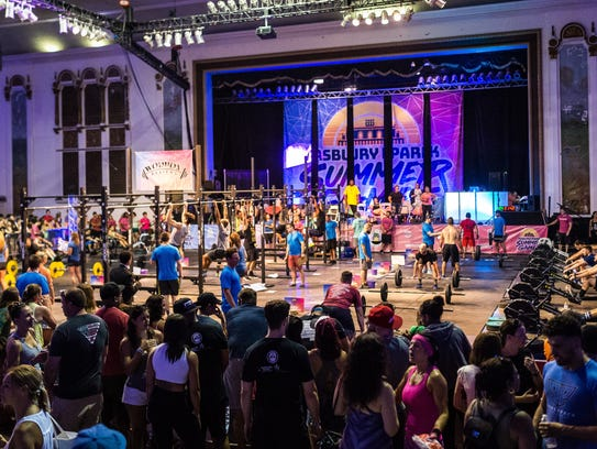 The Asbury Park Summer Games return to Convention Hall