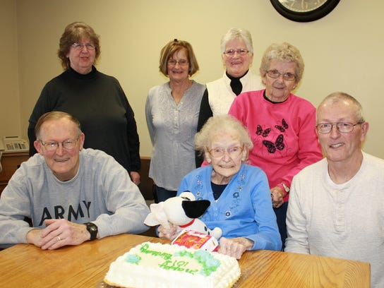 Family and friends join The Green Home resident Mabel