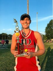 Allison Pfrommer, a former standout at Delsea High