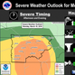 Thunderstorms, tornadoes possible in Nashville, region on Monday