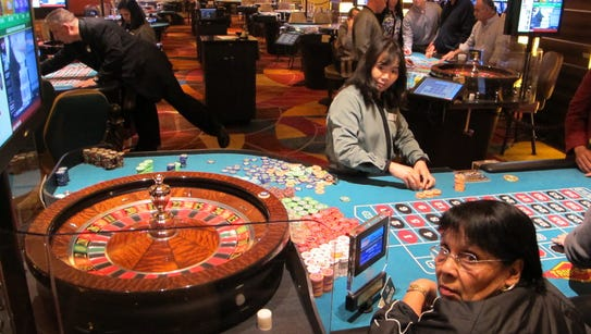 Tropicana experienced the largest increase in casino
