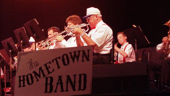 The Hometown Band will play a quintet of holiday concerts