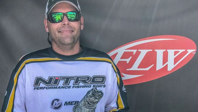 Daniel Johnson of Lebanon won the Fishing League Worldwide Music City Division Tournament on Old Hickory Lake last weekend.