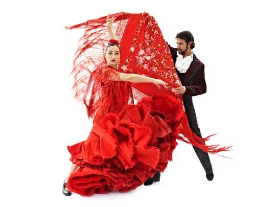 Carlota Santana dance troupe performs at Emelin Theatre on Nov. 15.