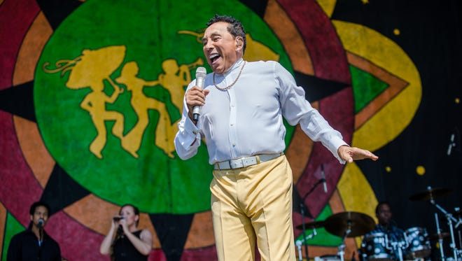 Motown legend Smokey Robinson will play a sold-out concert at the Freeman Stage at Bayside in Selbyville on Friday, June 1.