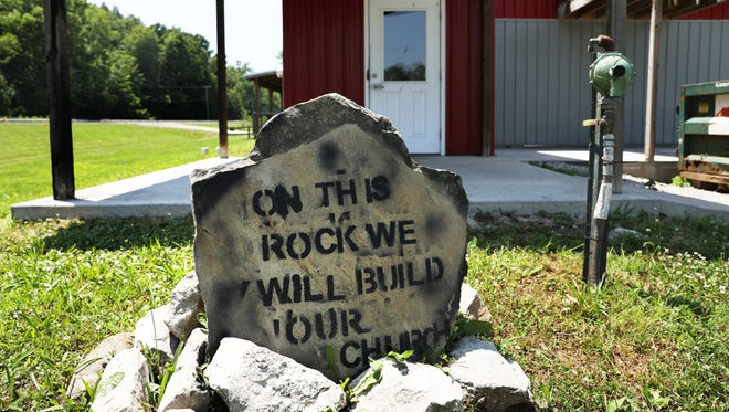 The Rock Church is turning the former Route 40 Roadhouse into its new home. The former restaurant is located on US 40 west of Zanesville.