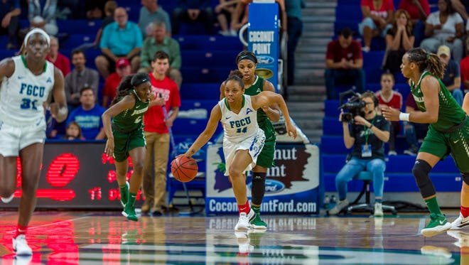Despite Thursday night's shocking loss at UNF, ASUN-leading FGCU got some separation against second-place JU with a win at Jacksonville on Saturday.
