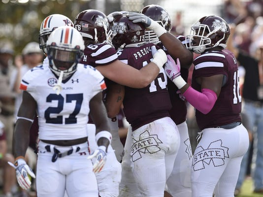 NCAA Football: Auburn at Mississippi State