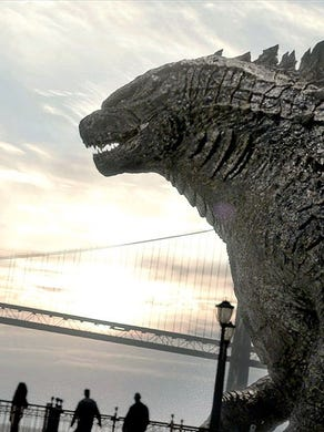 """Godzilla made the Golden Gate Bridge look tiny in 2014's """"Godzilla,"""" the reboot that launched the current MonsterVerse."""