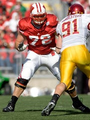 Joe Thomas played for the Badgers from 2003-'06.