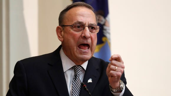 Gov. Paul LePage delivers the State of the State address