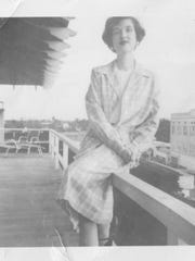 Phyllis Tickle at age 18