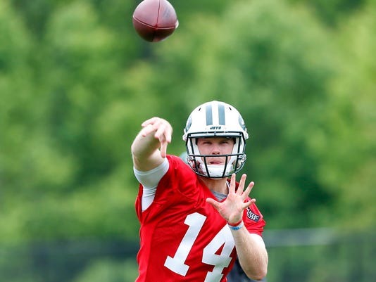 USP NFL: NEW YORK JETS-OTA S FBN USA NJ