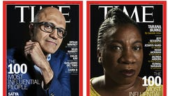 Time created six different covers for its 2018 Time