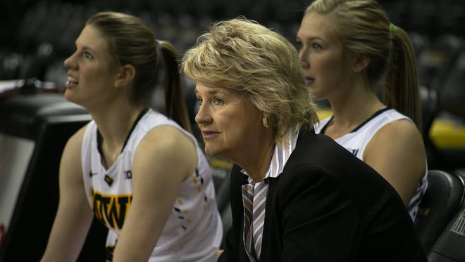 Iowa head coach Lisa Bluder saw a lot to like in the Iowa women's exhibition victory Sunday over Upper Iowa.