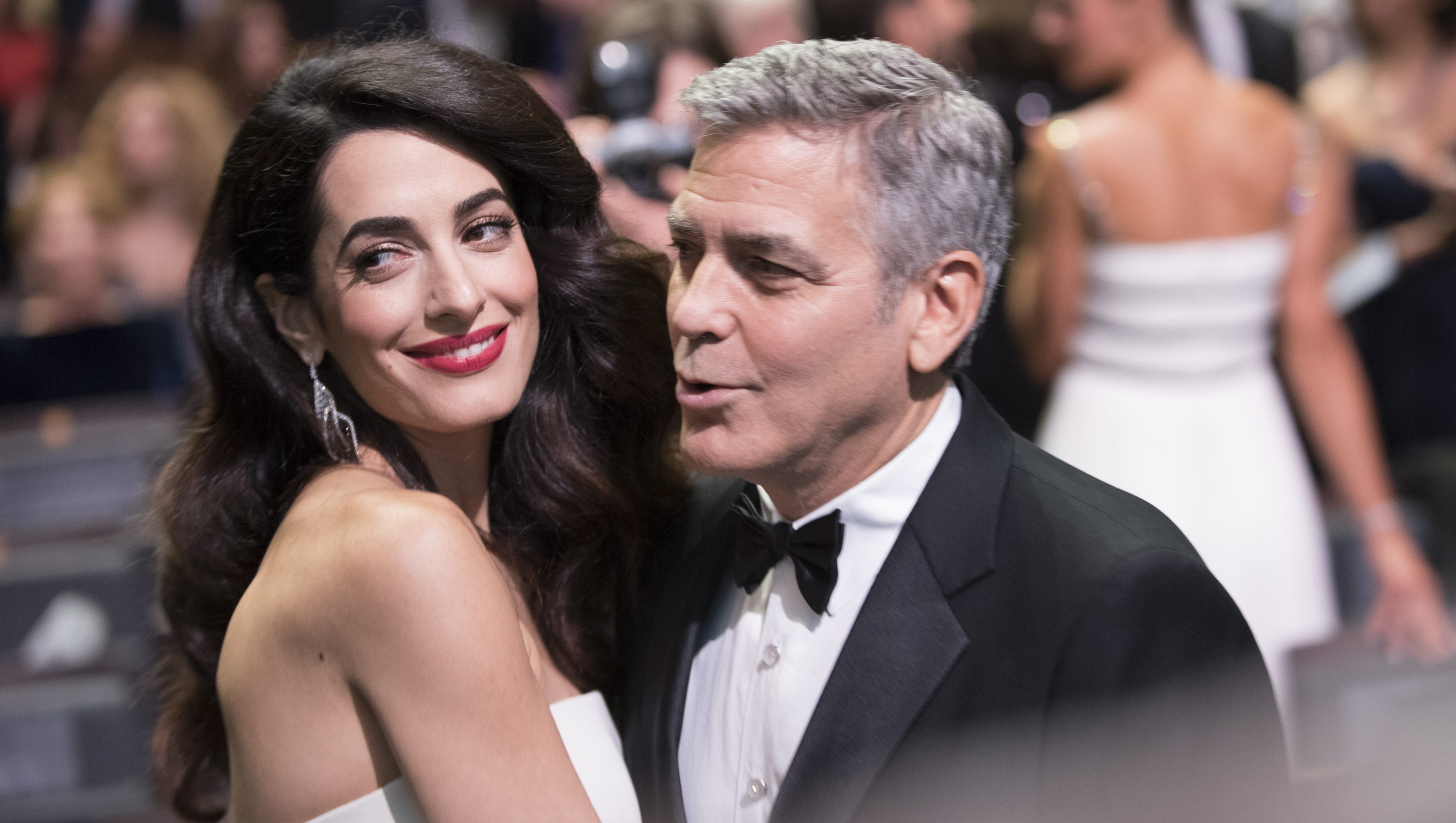 George And Amal Clooney Welcome Twins Ella And Alexander
