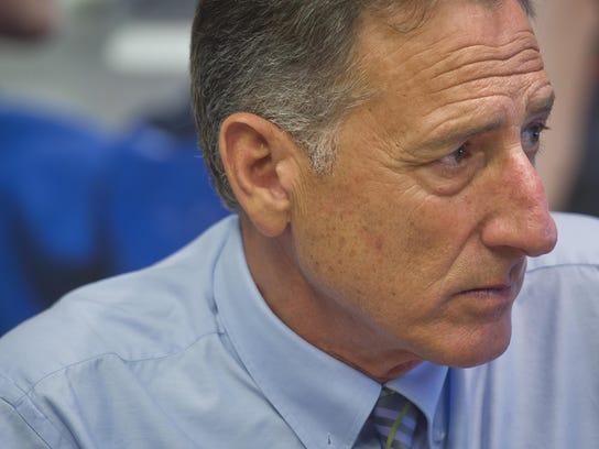 Vermont Gov. Peter Shumlin, will leave office Jan.