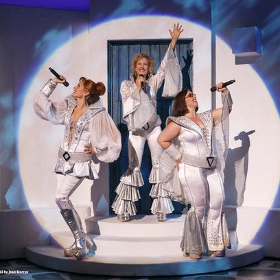 """""""Mamma Mia!"""" returns Friday to the Fox Cities PAC for its seventh visit."""