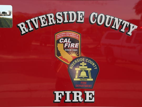 A fire engulfed a Mecca mobile home Tuesday night.