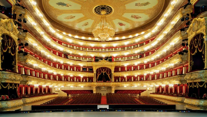 Moscow's Bolshoi Theatre is home to both the famed ballet and opera.
