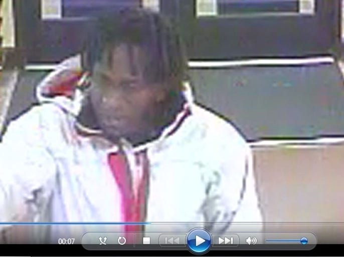 Images show a man who tried to rob the Freedom Value Center, 2601 W. 12th St., on Sunday morning.