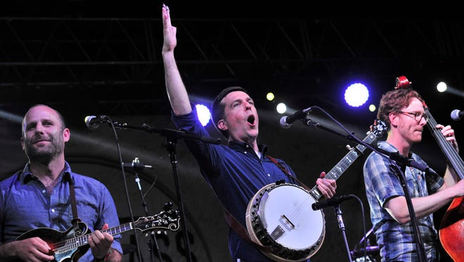"""Ed Helms has led an all-star concert known as the """"Bluegrass Situation Superjam"""" on Bonnaroo's final night for the past three years. He'll do it again on Sunday."""