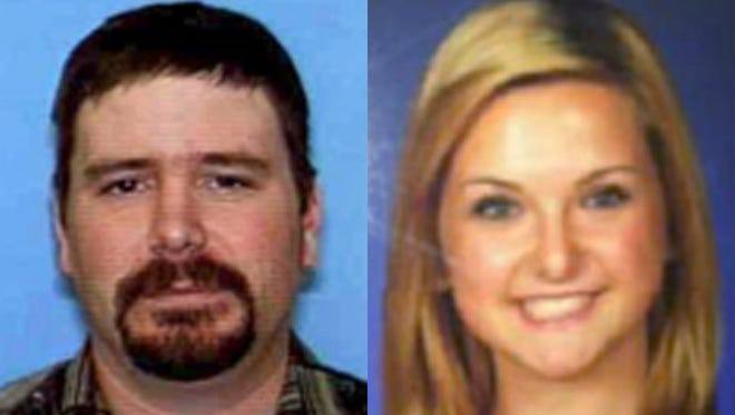 This combination of undated photos provided by the San Diego Sheriff's Department shows James Lee DiMaggio, 40, and Hannah Anderson, 16.