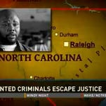 WFMY Greensboro, N.C.: Fugitives escape justice